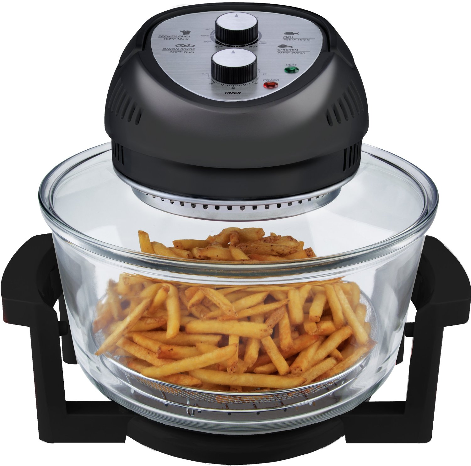 BIG BOSS 1300-Watt Oil-Less Fryer Review