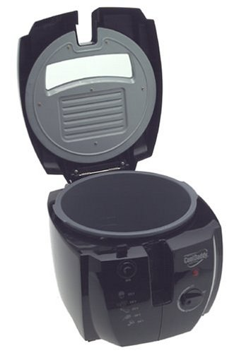 Presto 05442 CoolDaddy Cool-touch Deep Fryer - Black accessories