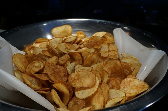 Potato Chips air fryer recipe