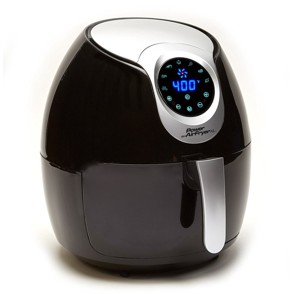 Power XL Air Fryer (5.3 QT, Black)
