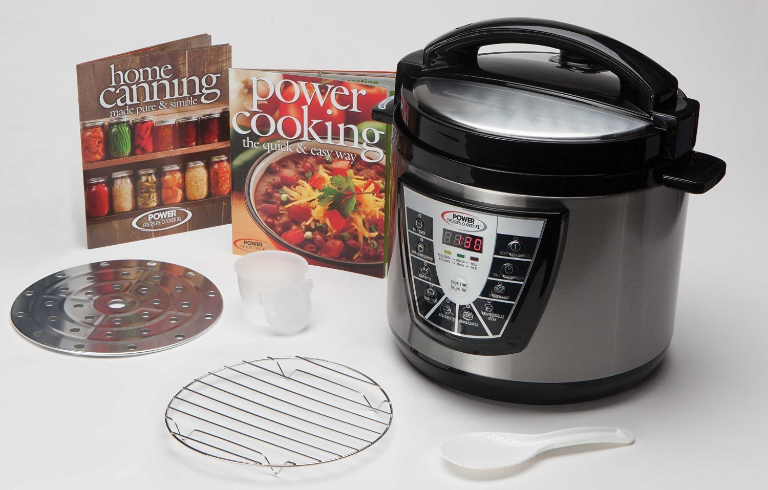 Power Pressure Cooker Xl 6 Quart Silver How To Cook