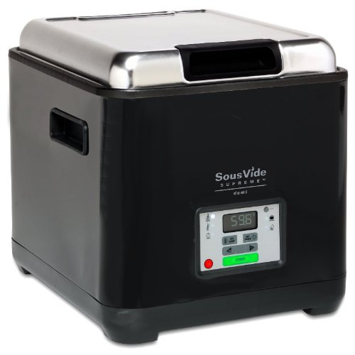 Sous Vide Supreme Demi Water Oven, Black