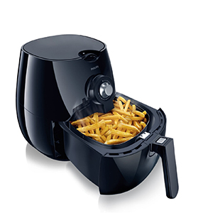 Philips Airfryer, The Original Airfryer Black HD922028 -Healthiness