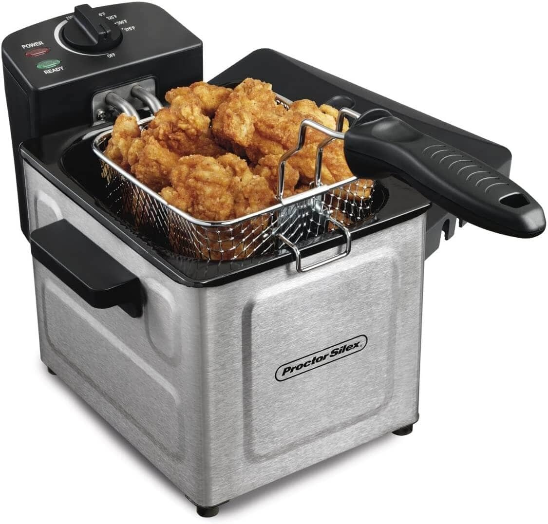 Proctor Silex Deep Fryer with Frying Basket