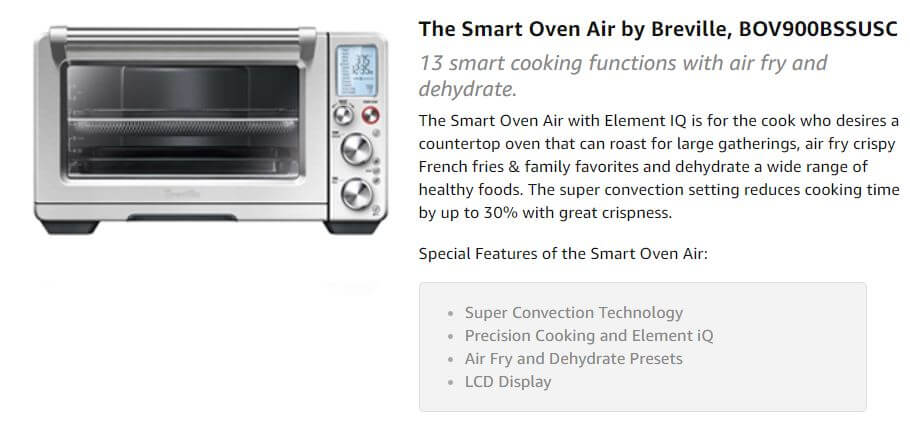 Best Toaster Oven Air Fryer Combination
