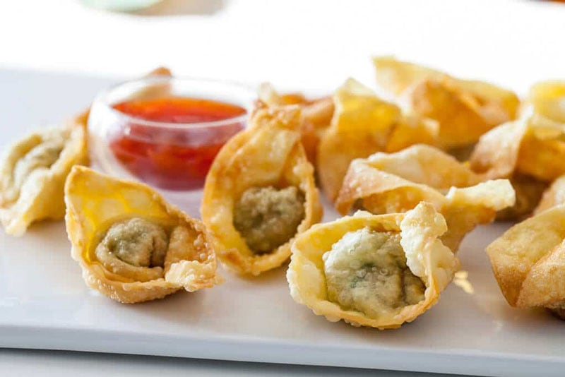 Fried Wonton Dumplings