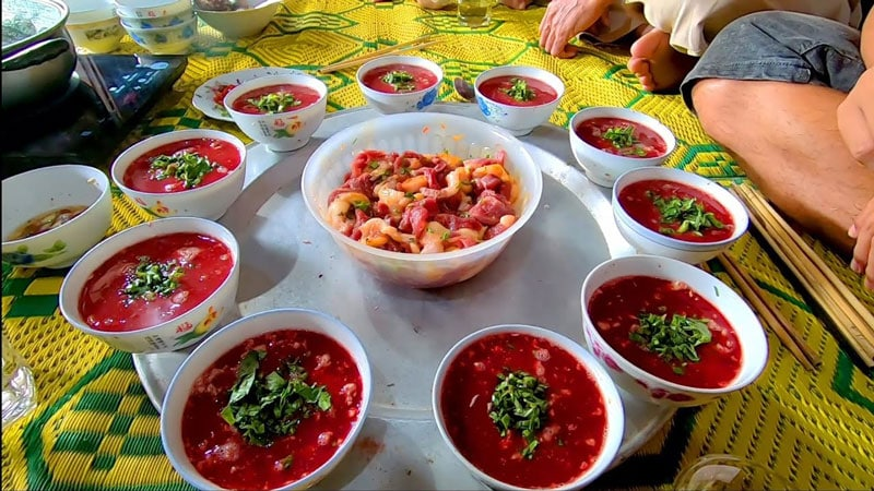 Animal Blood is Widely Used in Vietnamese Cuisine