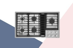 Best Gas Cooktop With Downdraft of 2021
